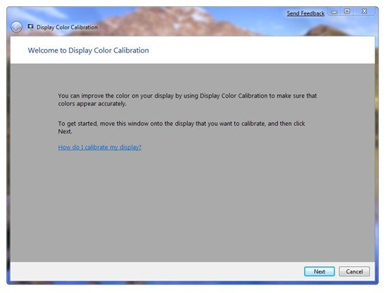 Display Color Calibration