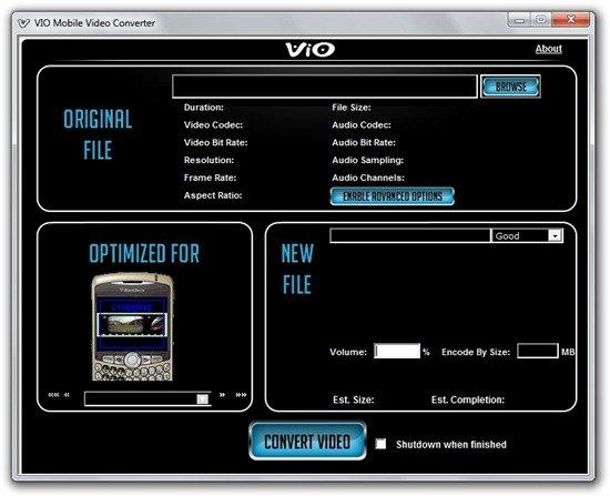 VIO Mobile Video Converter