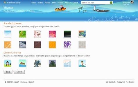 Themes - Windows Live - Windows Internet Explorer