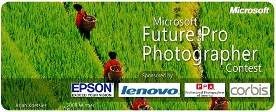 Microsoft Future Pro Photographer Contest
