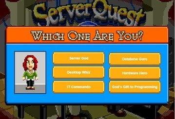 which one are you Server Quest II