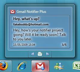 Gmail Notifier Plus 1
