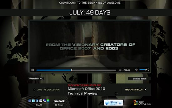 Office 2010 the movie