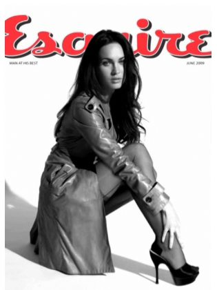 Megan Fox Exquire Red One HD Video Shoot Cover
