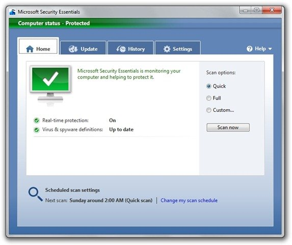 Microsoft Security Essentials (10)