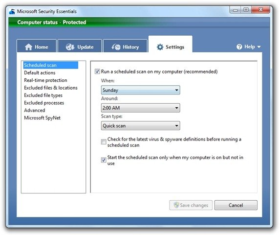 Microsoft Security Essentials (8)