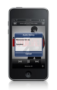 About Bluetooth in iPod Touch