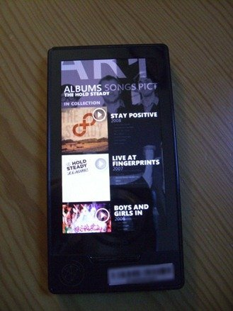 New Zune HD image with Marketplace