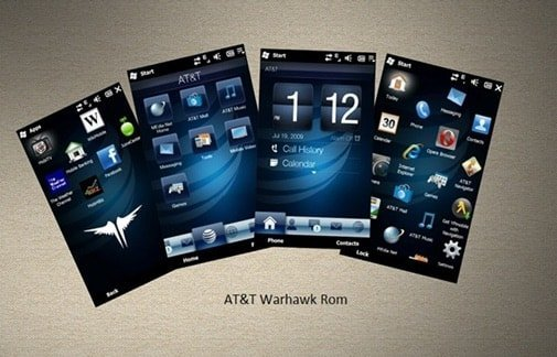 Download TouchFlo 3D 2.5 Theme for Windows Mobile 6.5