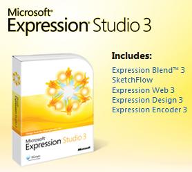 Microsoft Expression Studio 3 Free trial