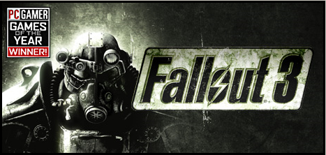 Fallout 3 PC Gamer Game of the year 50% off Steam