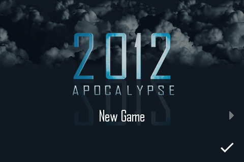 2010: Apocalypse iPhone App