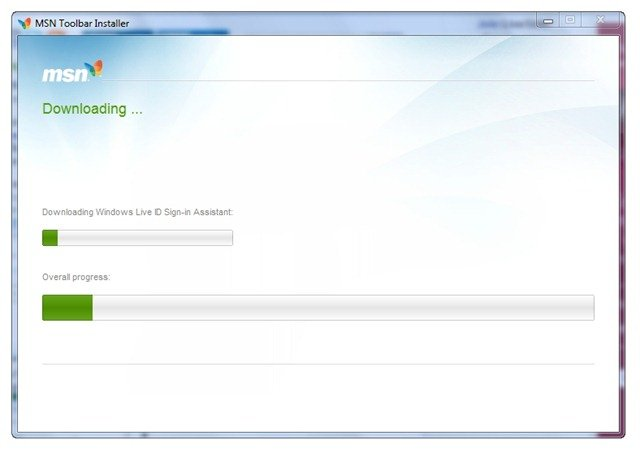 MSN Toolbar Installer