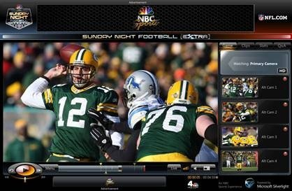 Watch the NFL live in HD thanks to Silverlight
