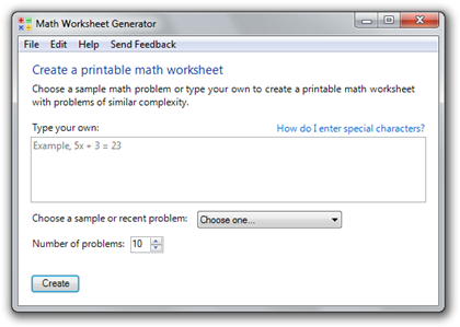 math worksheet : guide math worksheet generator by microsoft education labs : Microsoft Math Worksheet Generator