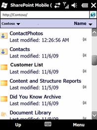 SharePoint Mobile (Beta)