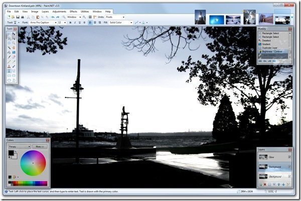 Paint.NET 3.5 final version released, utilizes Aero in Windows 7 and Vista