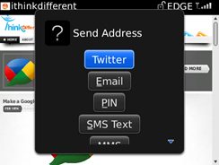 Send/Share feature
