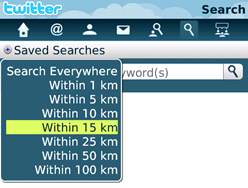 Geolocation search