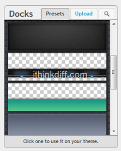 Dock options