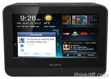 Sony Dash internet viewer
