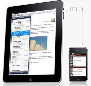 iPad and iPhone tethering, just a dream?