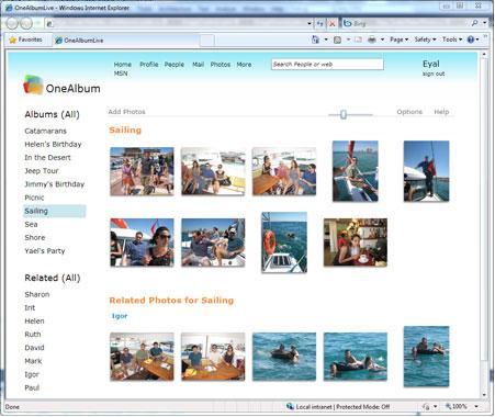 Microsoft OneAlbum