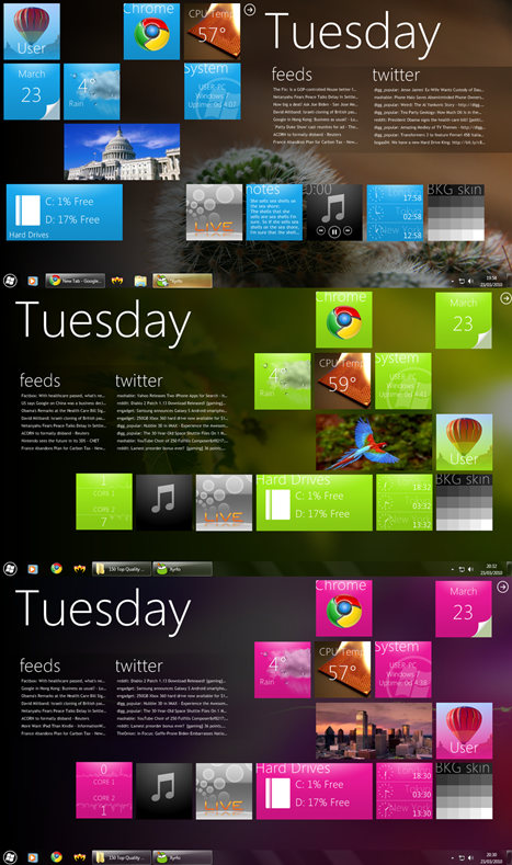 Windows Phone 7 Series theme for Windows 7