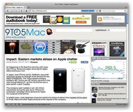 Opera 10.52 for Mac OS X