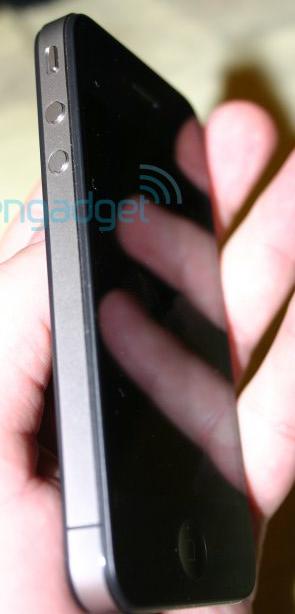 Screen shot iPhone 4G