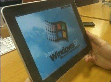 Windows 95 on iPad
