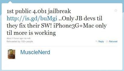 iPhone OS 4.0 jailbreak