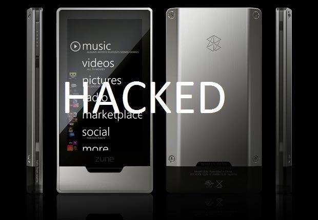 Zune HD hacked