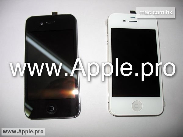 white iPhone 4g