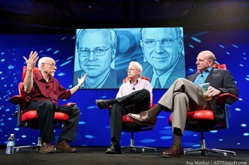 Steve Ballmer and Ray Ozzie at D8 Conference: Competitors, Tablets, Future of Computing and more
