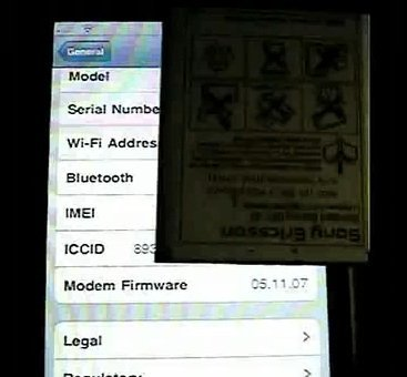 YouTube - Blacksn0w ported to 4.0 in action on a 3GS 4.0 beta 4.jpg