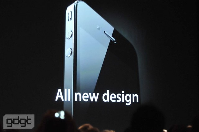 iPhone 4 unveiled at WWDC 2010 by Apple