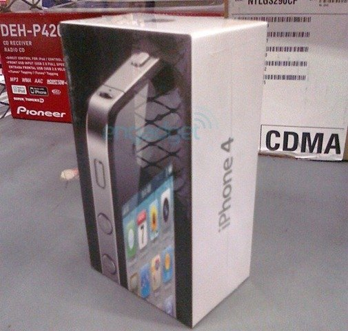 iPhone 4 Package