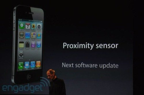 iPhone 4 proximty issue