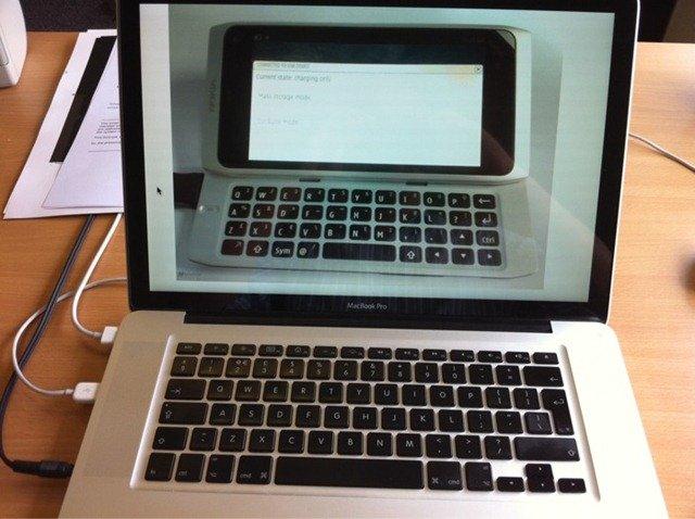 N9 looks like mac book pro