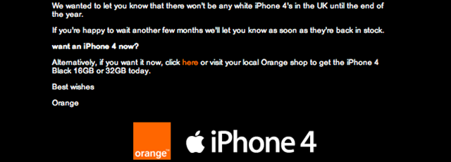 White iPhone 4 not coming till January.JPG