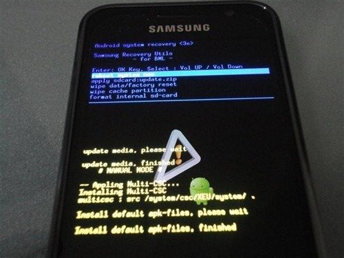 Samsung Galaxy S with Android 2
