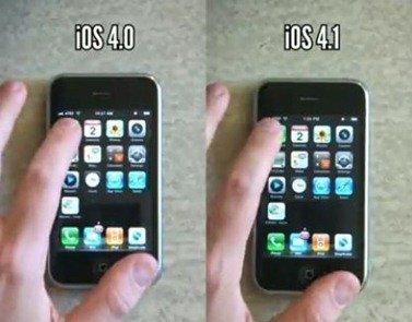 iPhone 3G Performance on iOS 4.0 vs iOS 4.1