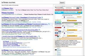 Google Testing Full Page Previews