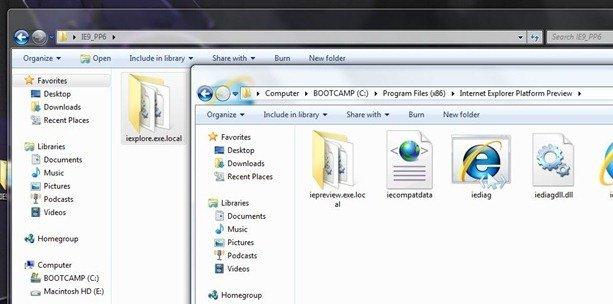 Internet Explorer 9 copy IELocal