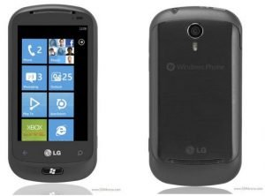 LG Quantum Optimus 7Q Windows Phone 7