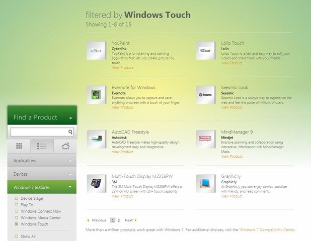 Windows Product Scout 3