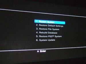 How To: Access PlayStation 3 Recovery Mode