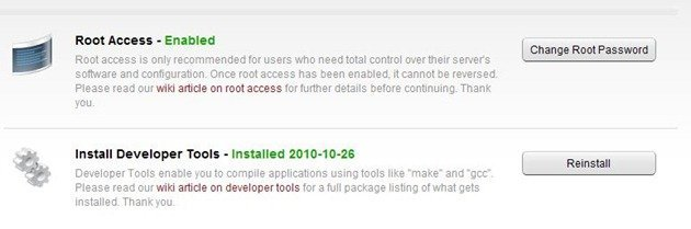 Root Access and Developer Tools