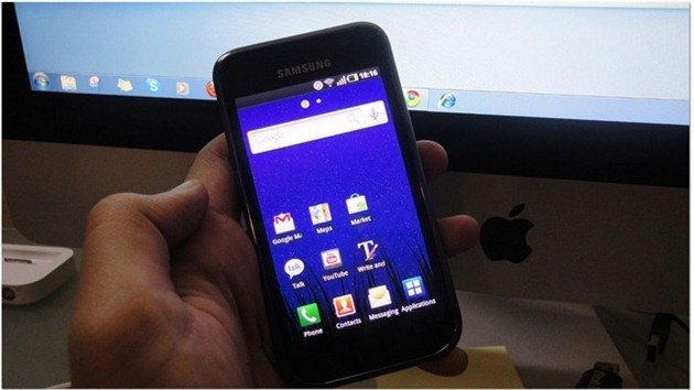 Samsung Galaxy S Android 2.2.1 root method